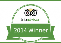 TripAdvisor Awards: Residence Green Lobster 2014