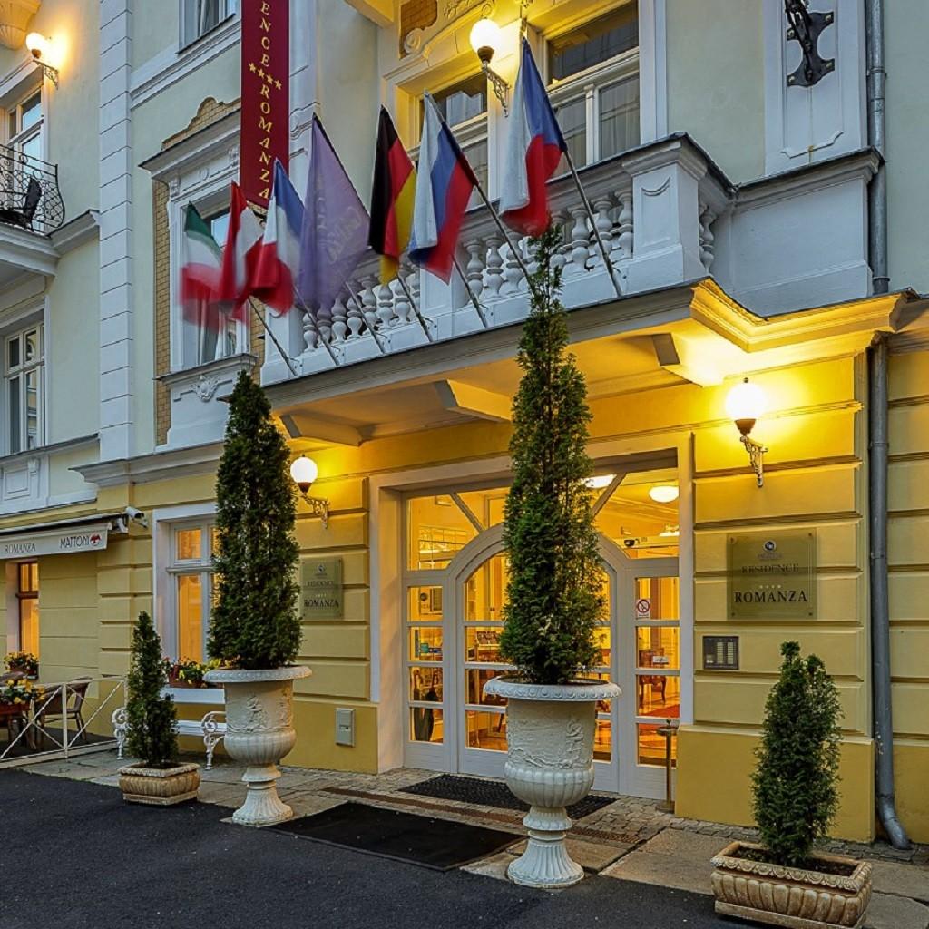 Residence Romanza Four Star Spa Hotel Marienbad Resorts